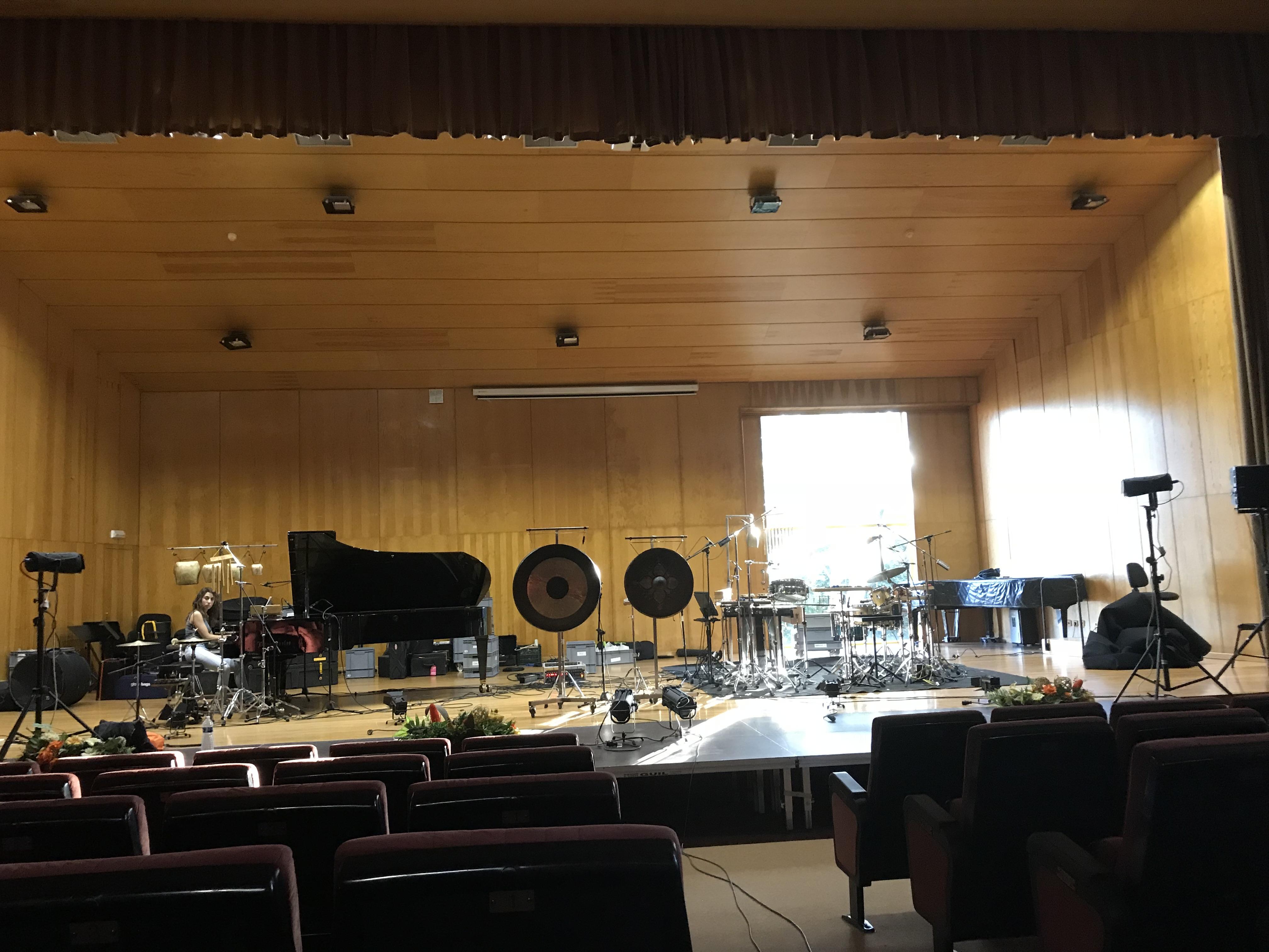 oh ton-ensemble | Die Vorebereitungen für das Konzert in VIGO sind abgeschlossen