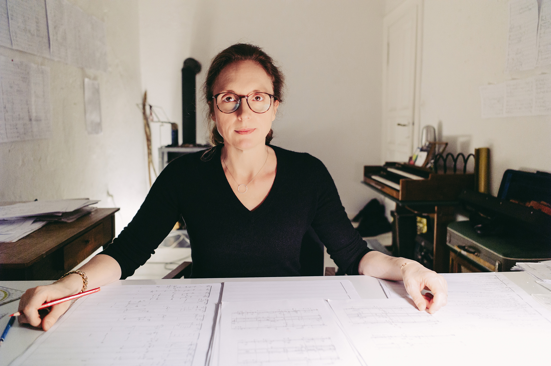 Rebecca Saunders, Berlin 2019 (c) EvS Musikstiftung
