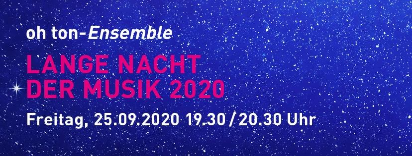Banner - Lange Nacht der Musik 2020 828x315