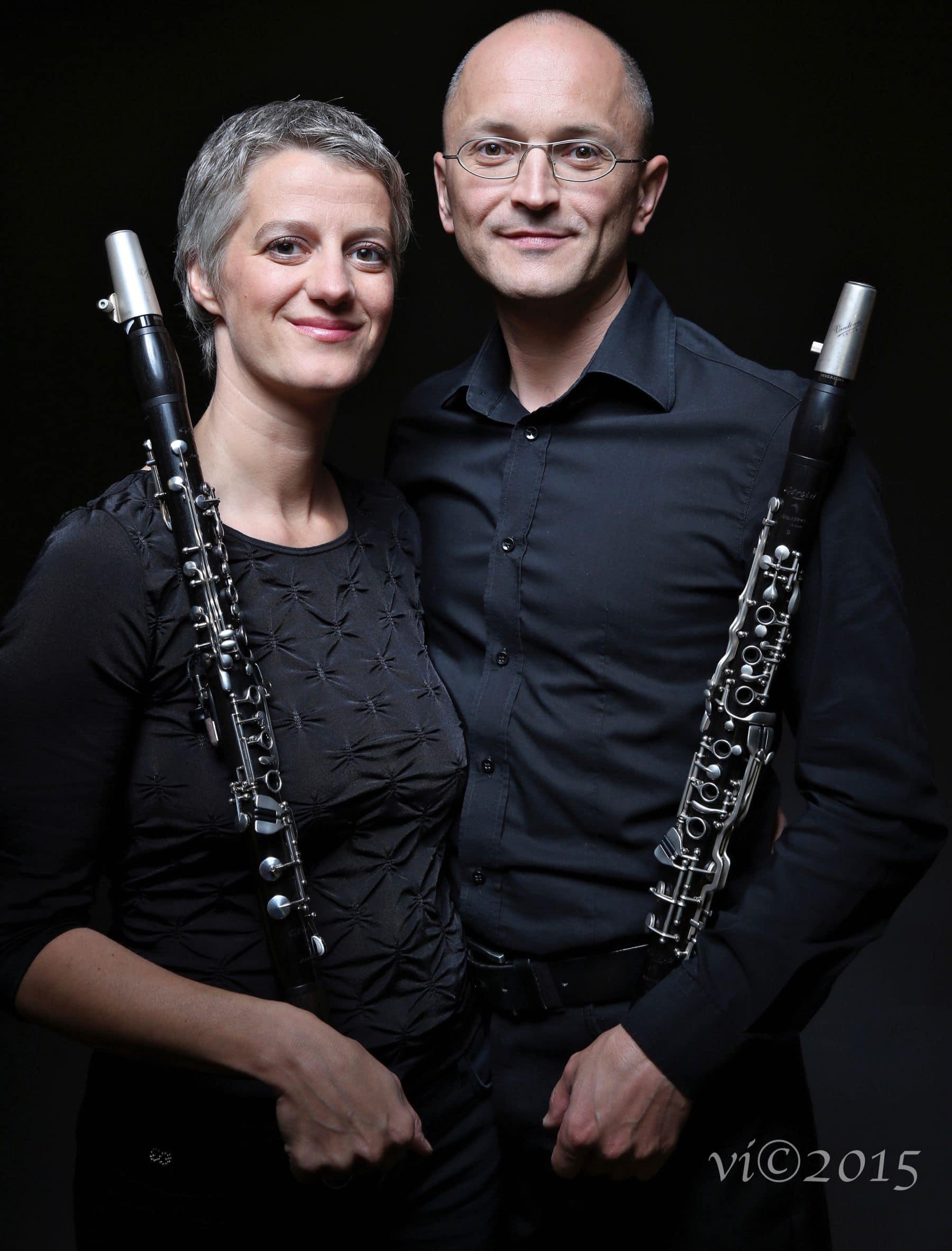 Klarinetten Duo Stump-Linshalm zu gast bei ohton im November 2021